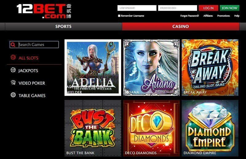 casino 12bet