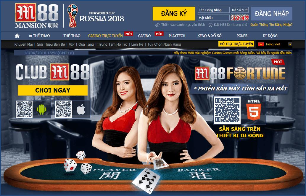 sòng bài casino m88