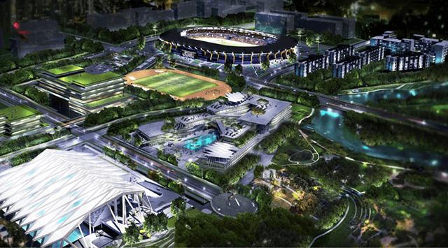 sea games 2019 stadium