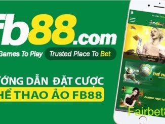 Hướng dẫn cá cược thể thao ảo trên di động tại FB88